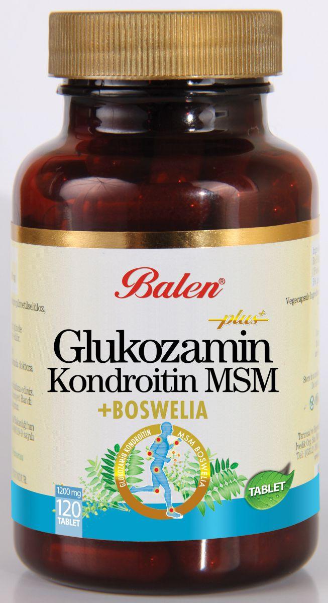 Balen Glukozamin Kondroitin Msn Boswellia Tablet