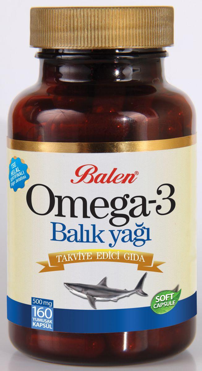 Balen Omega 3 Balık Yağı Soft Kapsül