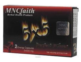 MNCfaith 5x5 Afrodizyak (2 Kapsül)