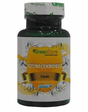GreenStore Siyah Üzüm Çekirdeği Kapsülü