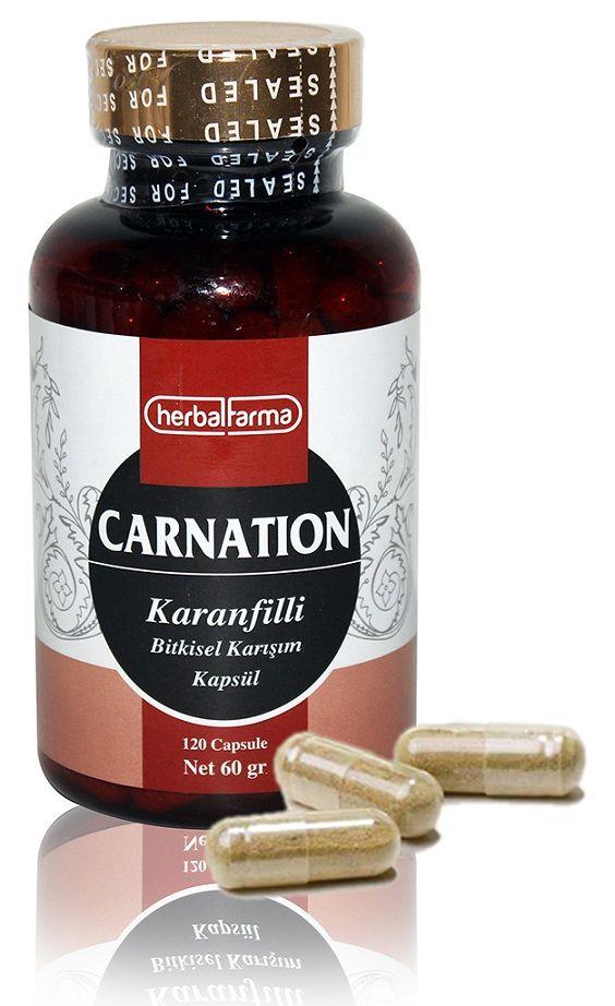 Herbalfarma Carnation (Karanfilli Bitkisel Karışım) Kapsül