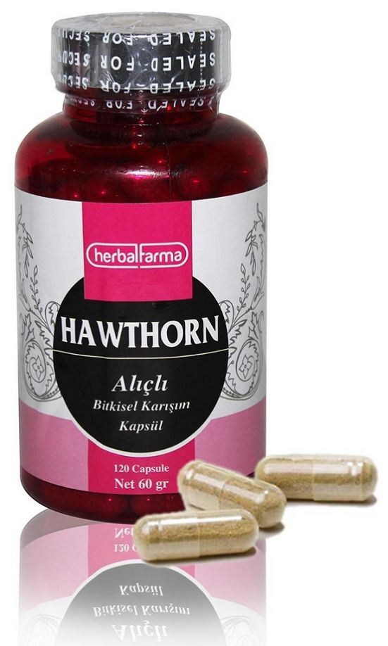 Herbalfarma Hawthorn (Alıçlı Bitkisel Karışım) Kapsül