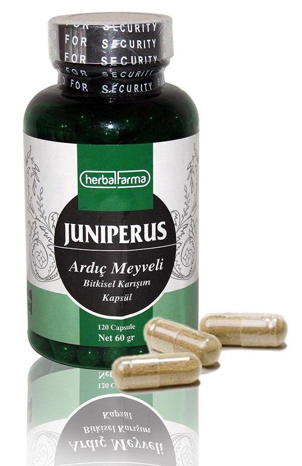 Herbalfarma Juniperus (Ardıç Meyveli Bitkisel Karışım) Kapsül