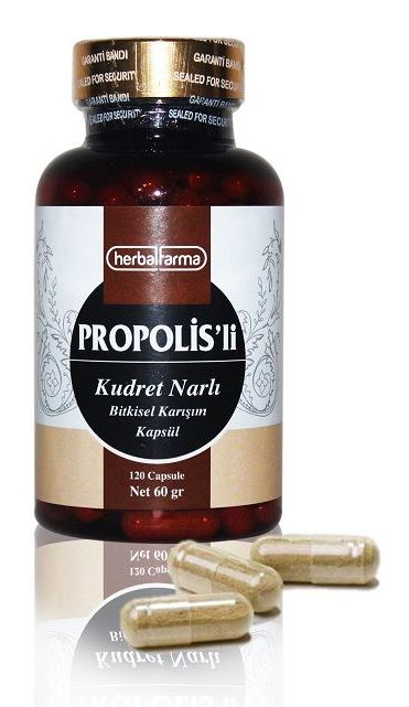 Herbalfarma Kudret Narlı propolisli Bitkisel Karışım Kapsül