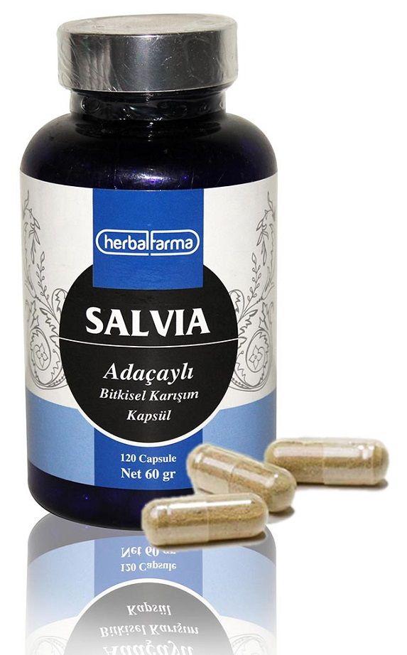 Herbalfarma Salvia (Adaçaylı Bitkisel Karışım) Kapsül