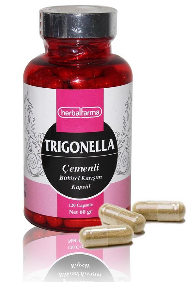 Herbalfarma Trigonella (Çemenli Bitkisel Karışım) Kapsül