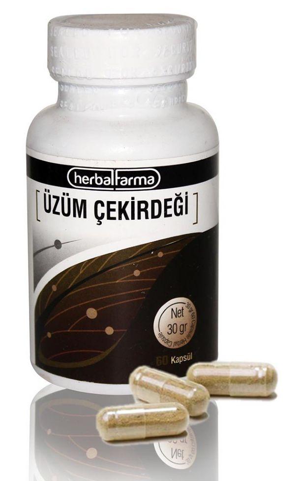 Herbalfarma Üzüm Çekirdeği Kapsül
