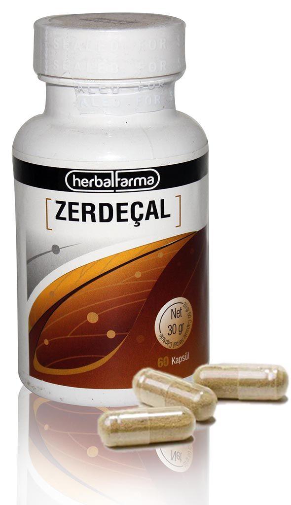 Herbalfarma Zerdeçal Kapsül