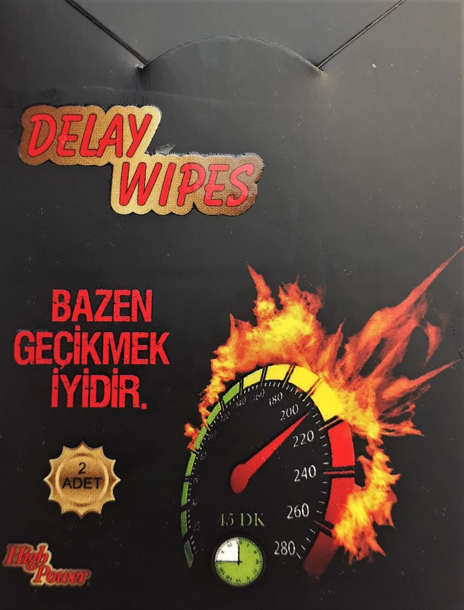 High Power Delay Wipes