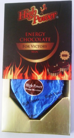 High Power Energy Chocolate Man