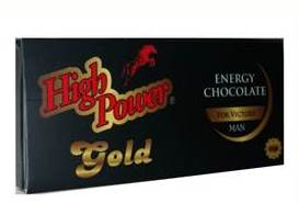 High Power Energy Chocolate Gold