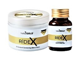 Ridex Doğal Kapsül ve Krem Seti