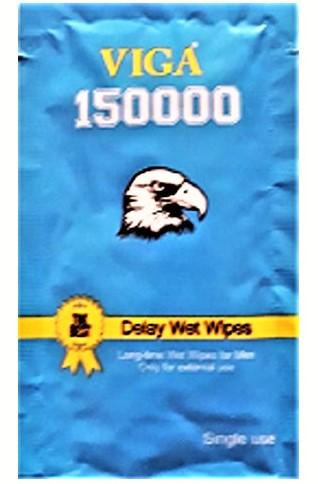 Viga 150000 Delay Wet Wipes