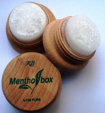 Menthol Box Mentollü Doğal  Taş