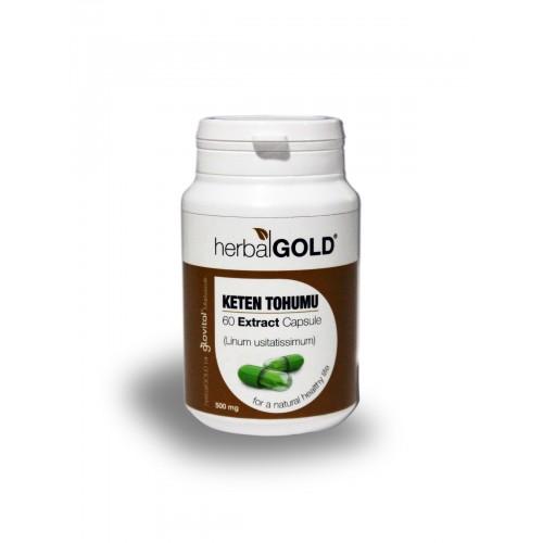 Herbalgold Keten Tohumu Ekstract Kapsül